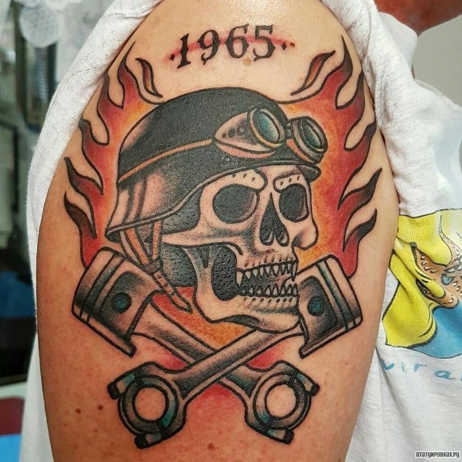 Татуировки байкеров и их значение. - mototraveller