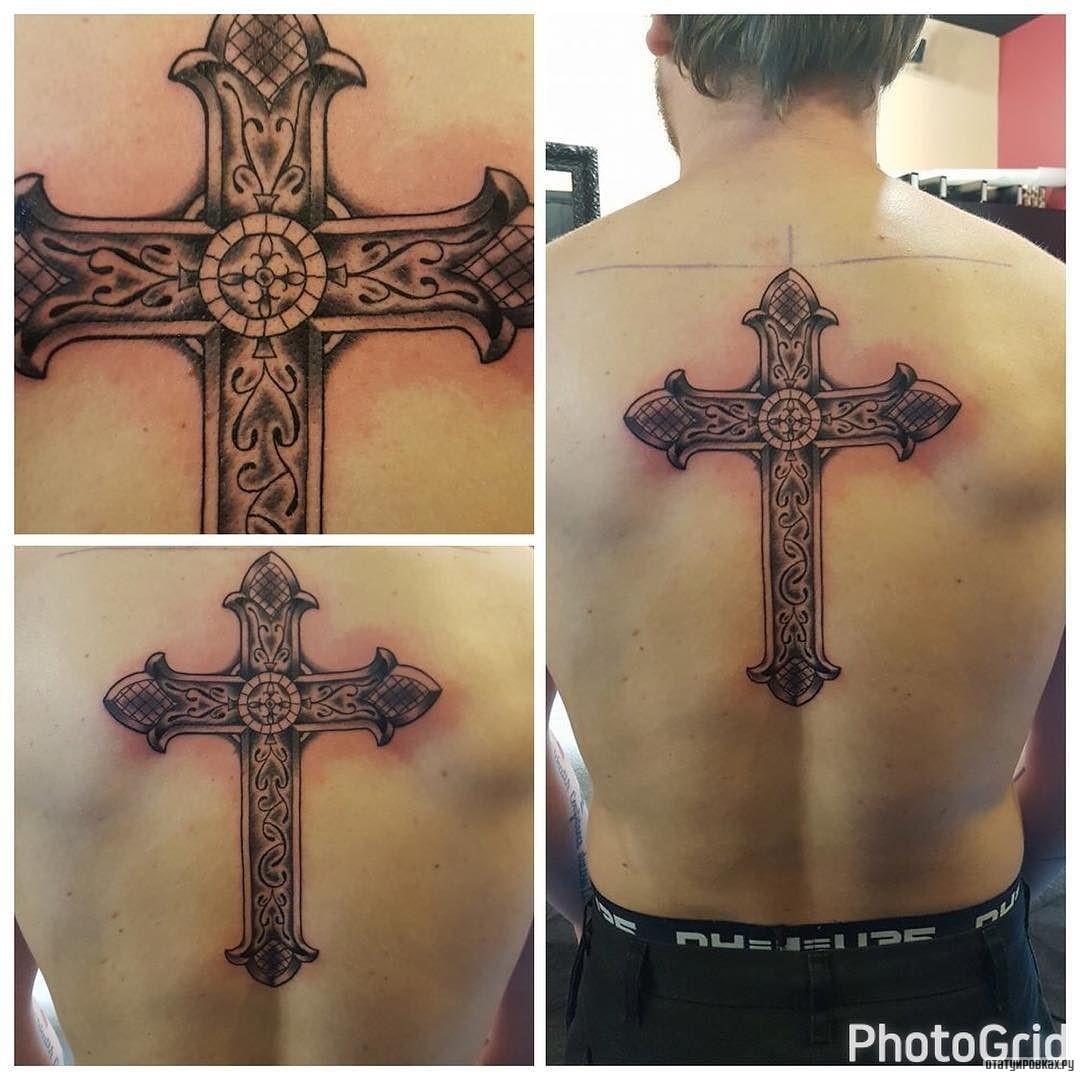Татуировка крест: значение и эскизы 87