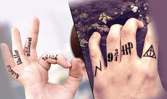 Татуировка Гарри Потера