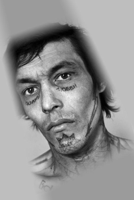 рисунки лице тату