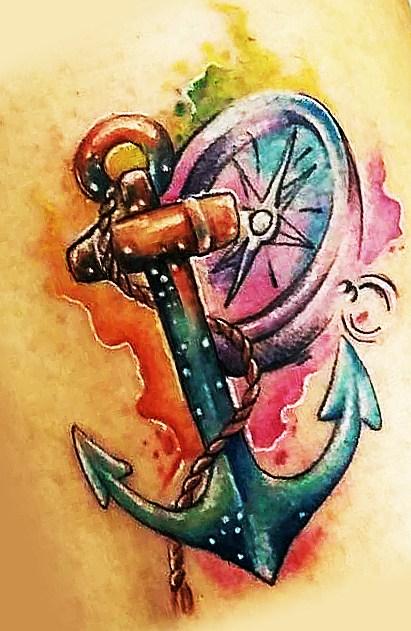 Татуировка якоря