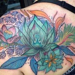 Цветущий сад: самые женственные татуировки цветов, их значения, фото и отзывы