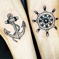 Романтика эпохи мореплавателей: популярные морские татуировки, фото и отзывы