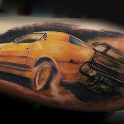 Автоспорт татуировка