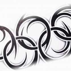 Олимпийские кольца, эскиз