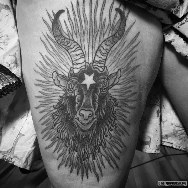 Татуировка бафомет