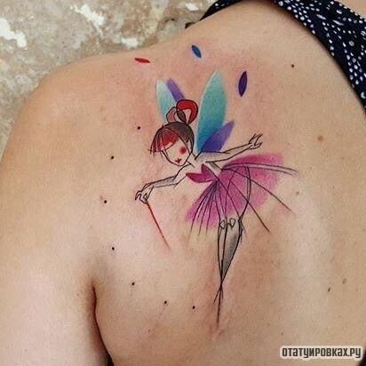 Татуировка фея