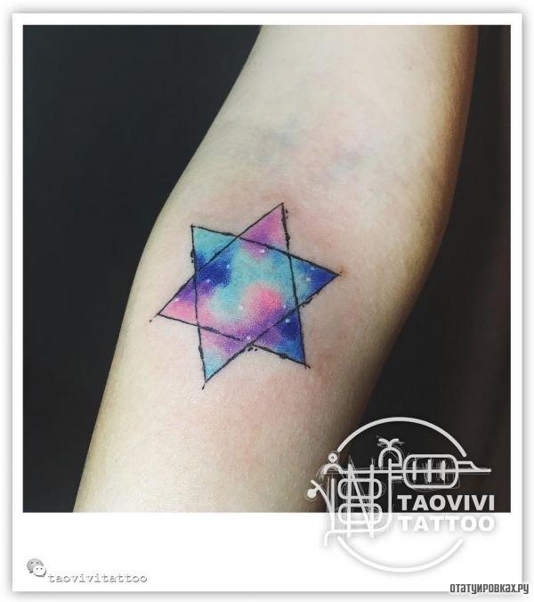 Татуировка гексаграмма
