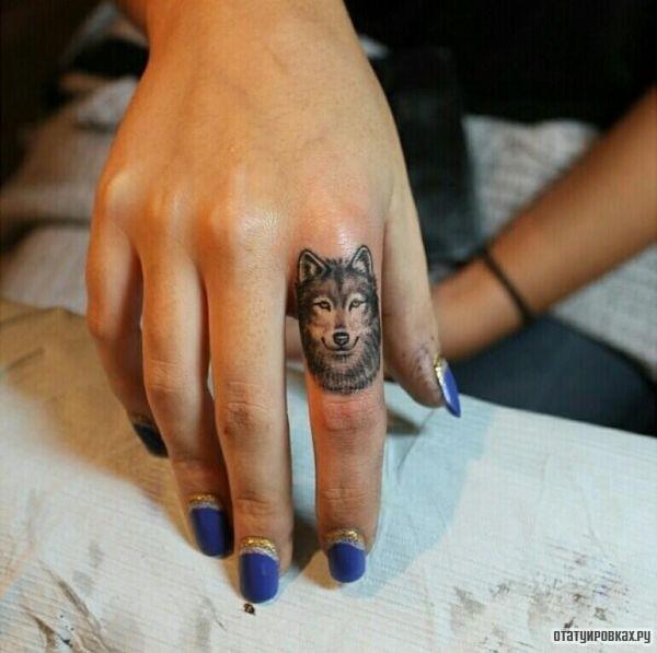 Татуировка кольцо
