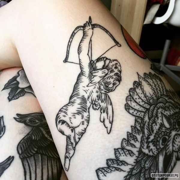 Татуировка купидон