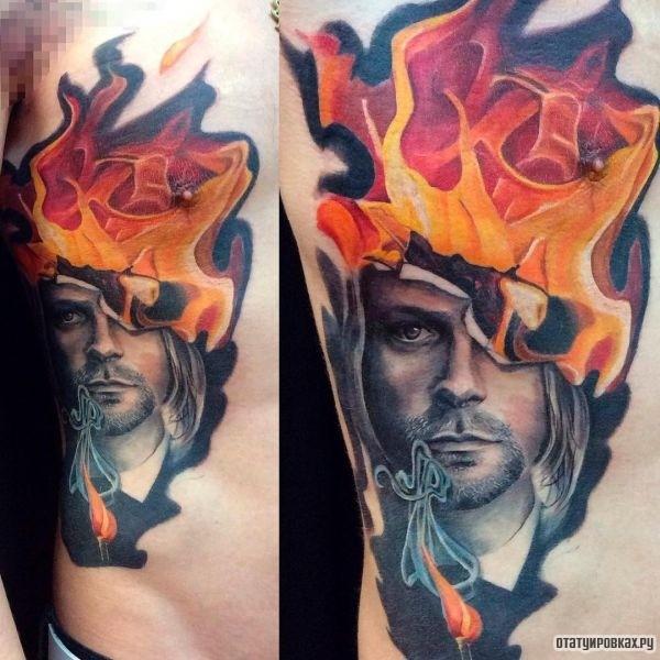Татуировка огонь