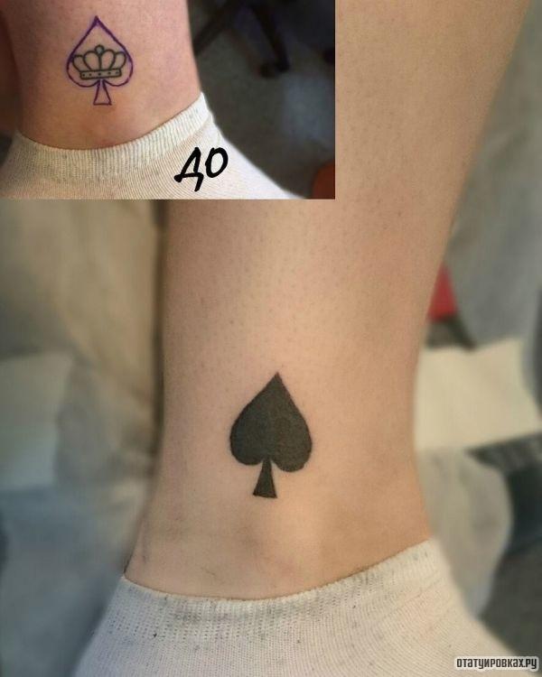 Татуировка пики