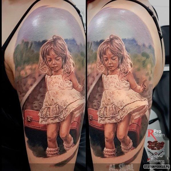 Татуировка ребёнок