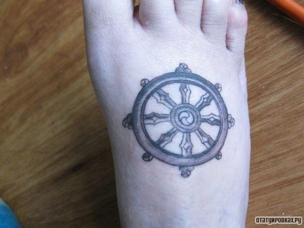 Татуировка сансара
