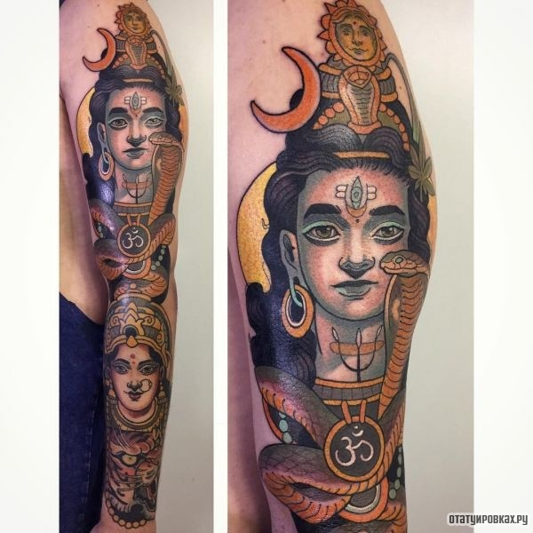 Татуировка Шива