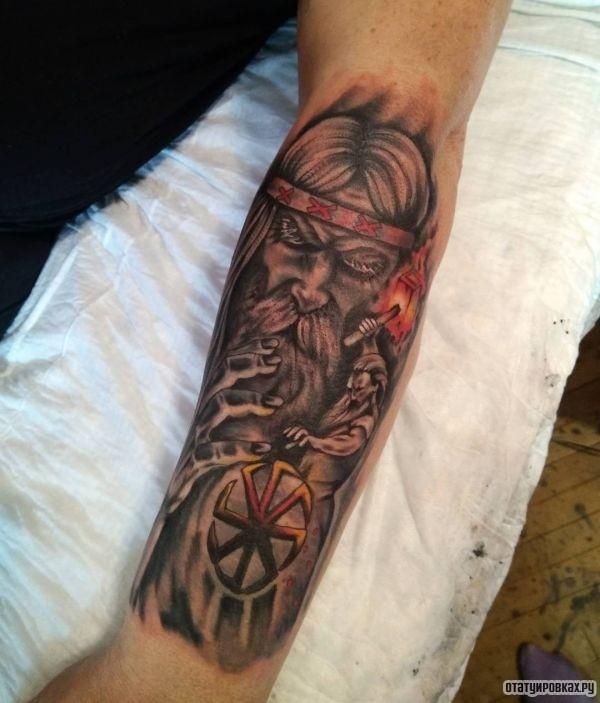 Татуировка сварог