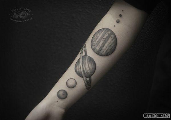 Татуировка юпитер