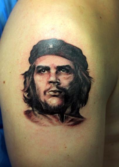 Изображение Че Гевара на татуировки