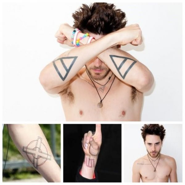 Джаред Лето в татуировках