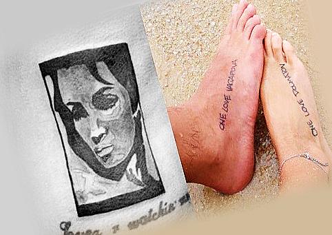Любовные татуировки Гуфа