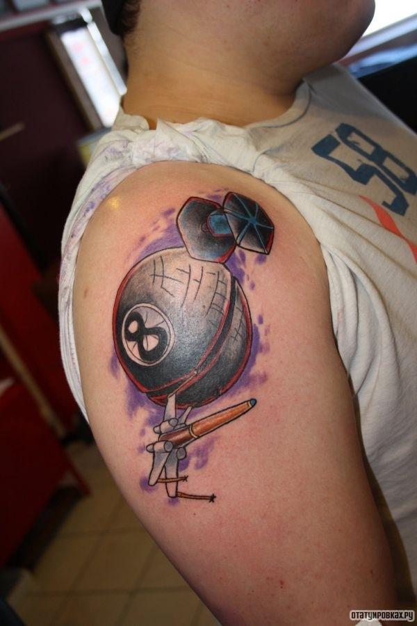Татуировка восемь