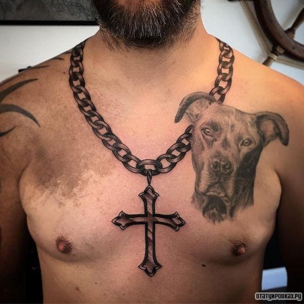 Татуировка цепочка