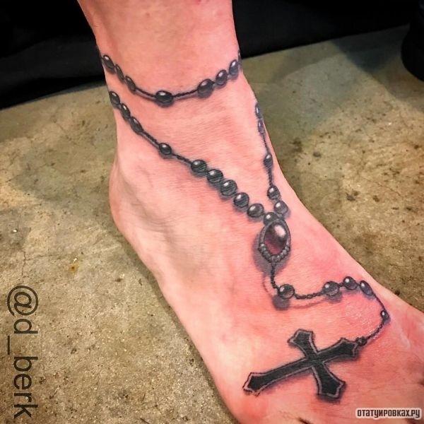 Татуировка четки