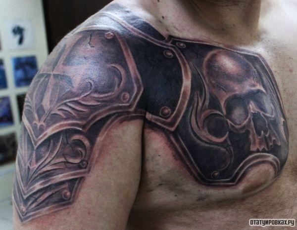 Татуировка доспехи