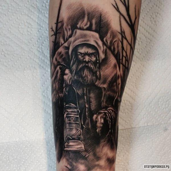 Татуировка гном