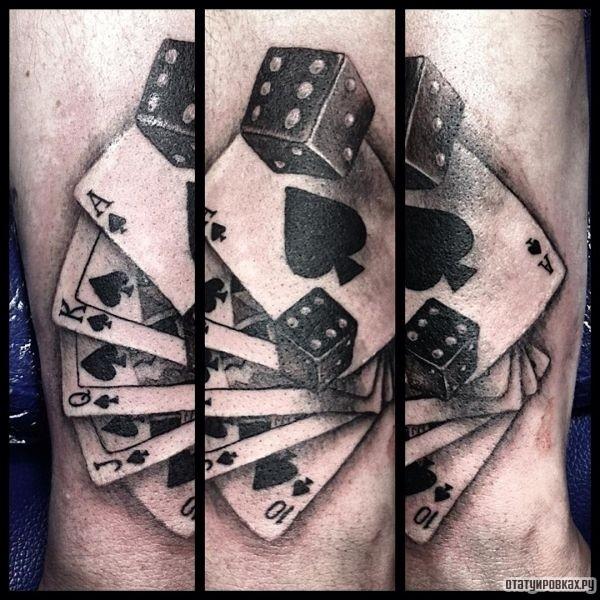 Татуировка кости