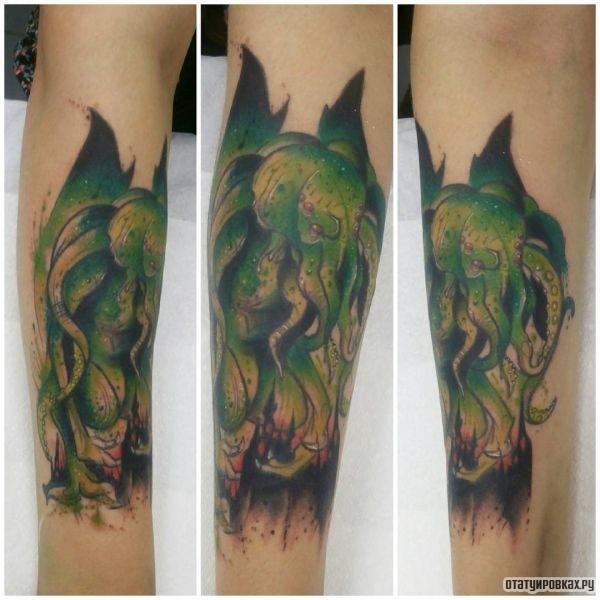Татуировка ктулху