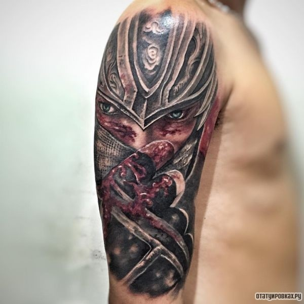Татуировка ниндзя