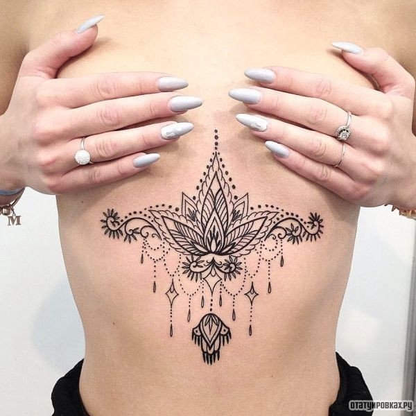 Татуировка орнамент