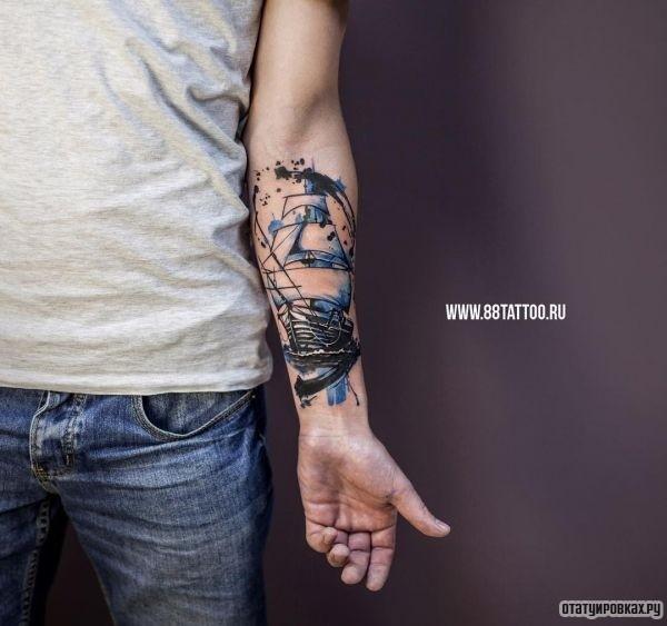 Татуировка парус