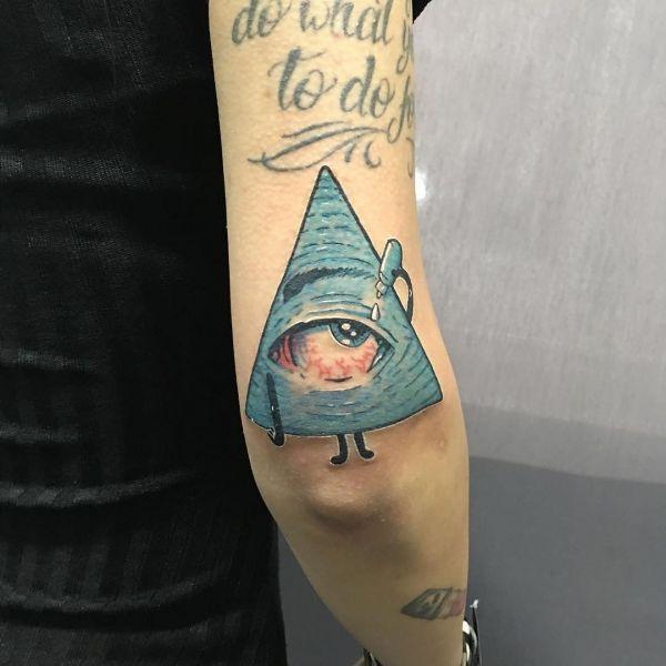 Треугольник в виде символа гора-глаз