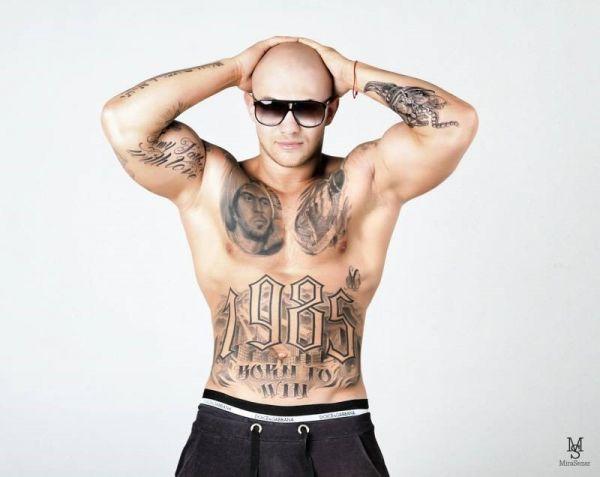 Татуировка Джигана на теле
