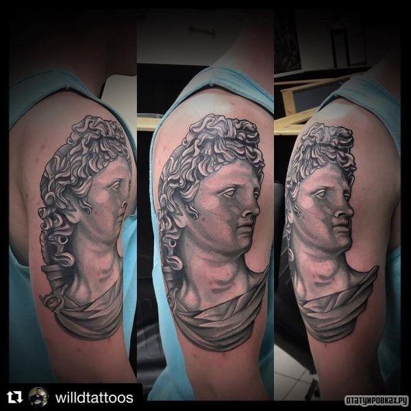 Татуировка Аполлон
