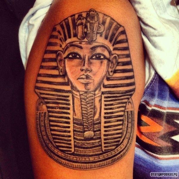 Татуировка фараон