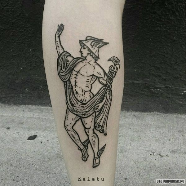 Татуировка Гермес