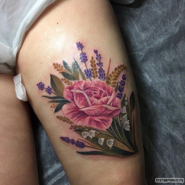 Татуировка колокольчик