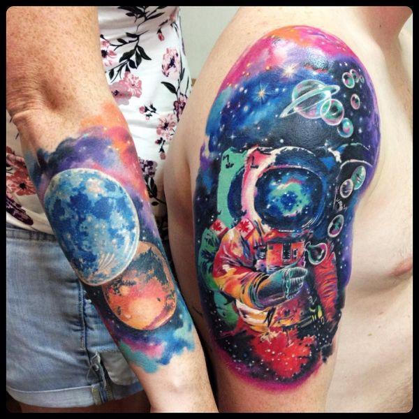 Татуировка космонавта в космосе