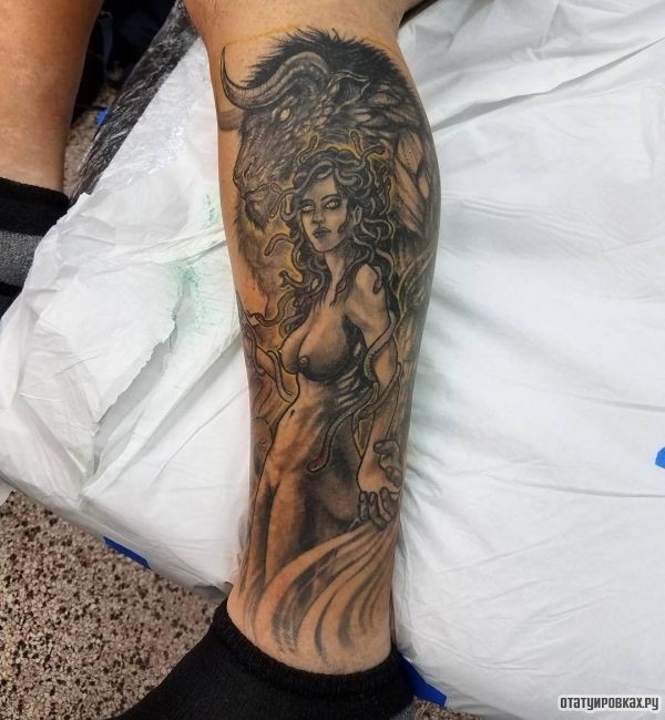 Татуировка минотавр