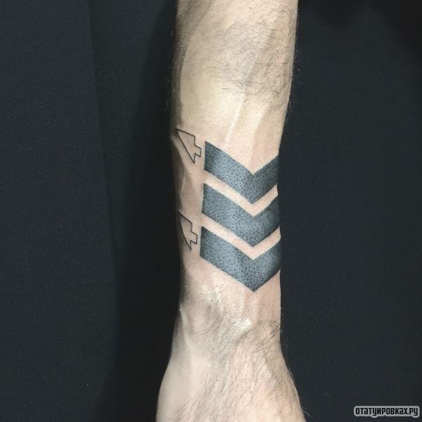 Татуировка полосы