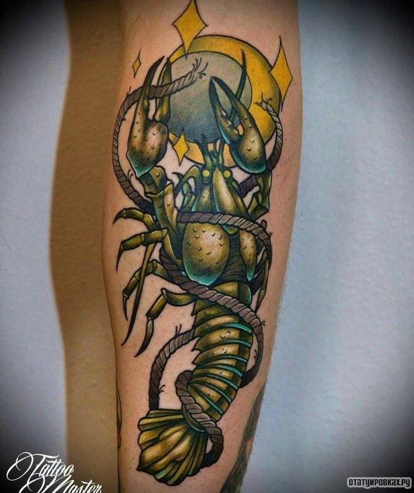 Татуировка рак