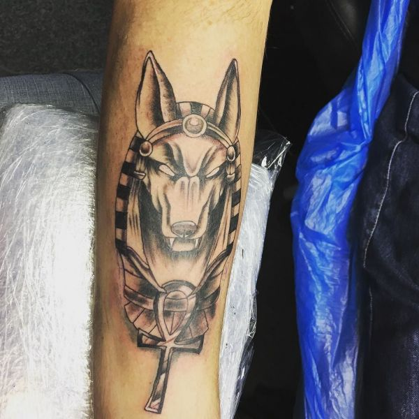 Египетская татуировка сфинкса