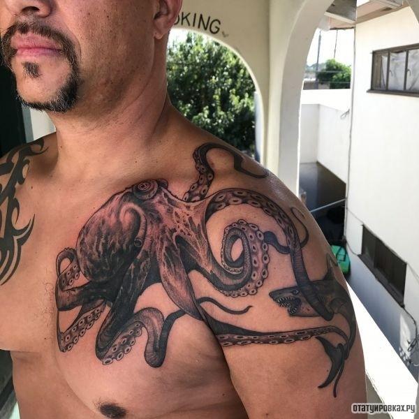 Татуировка спрут