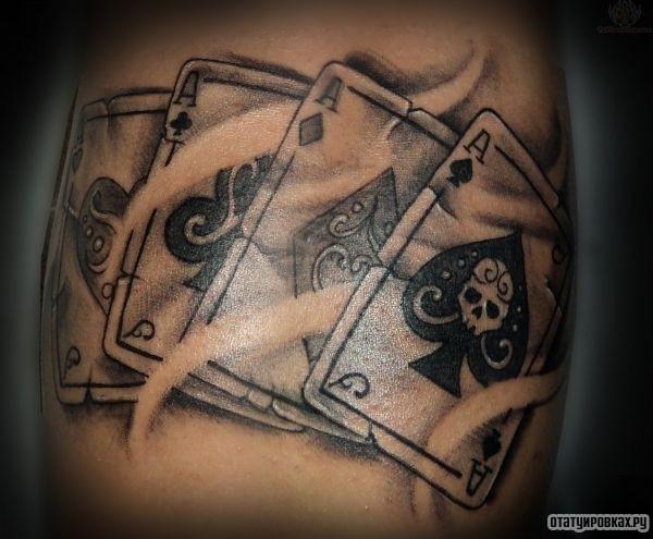 Татуировка туз