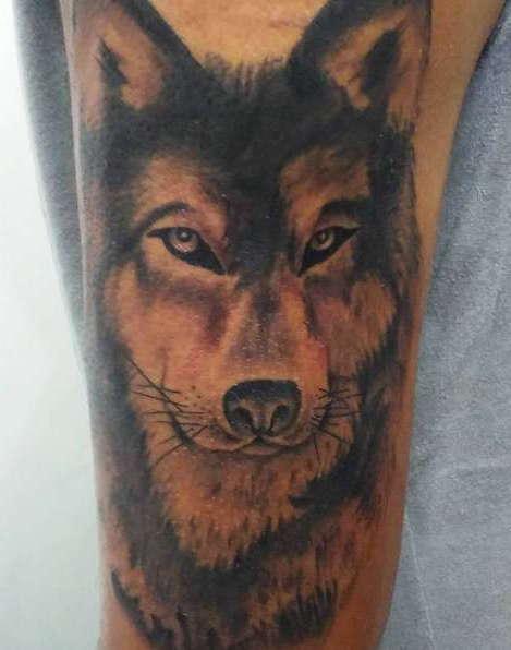 Татуировка волк как он есть