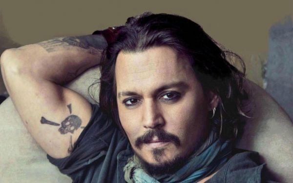 Джек Воробей с татуировками: еще один ракурс