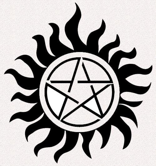 Эскиз татуировки Сэма и Дина - фото